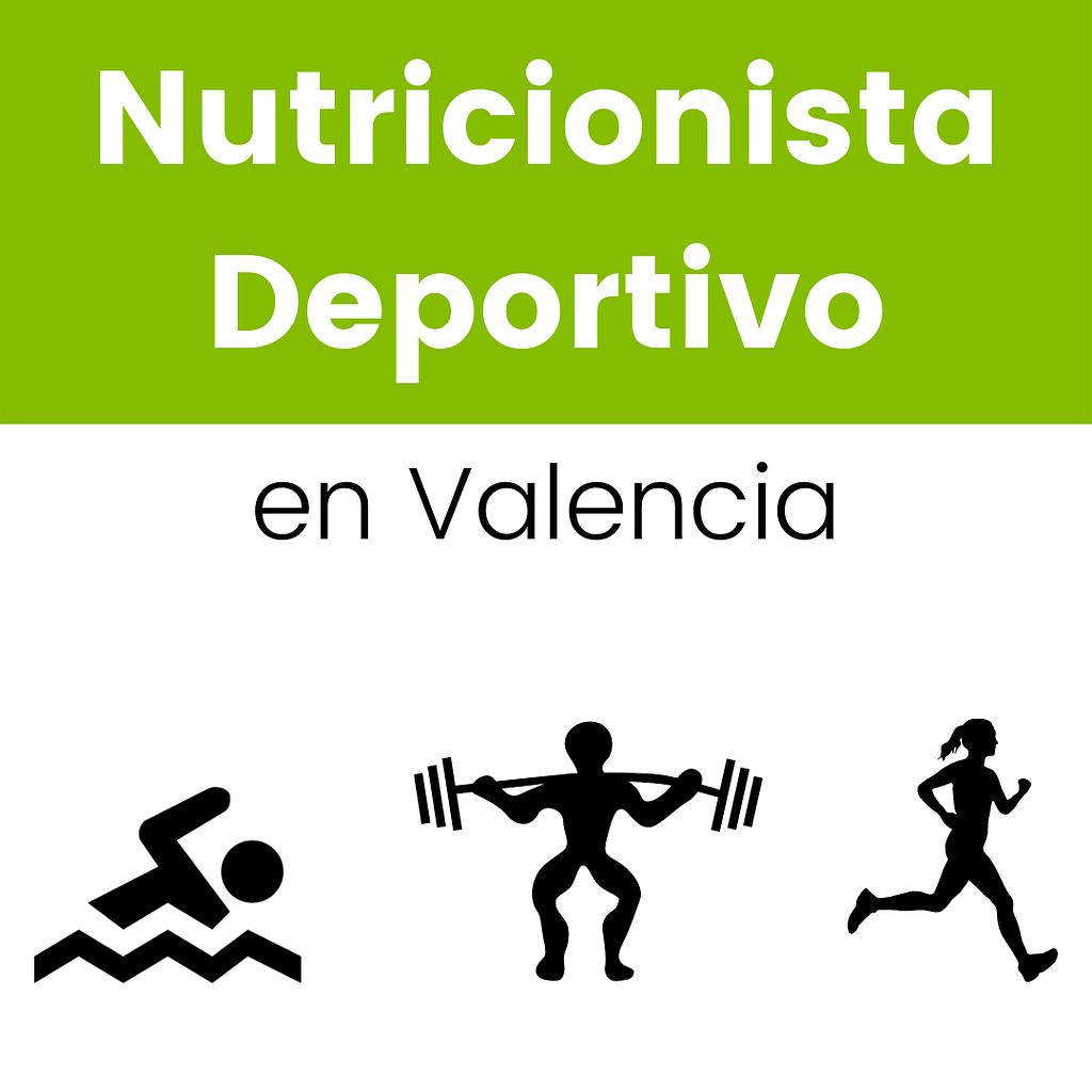 Imagen resumen nutricionista deportivo Valencia
